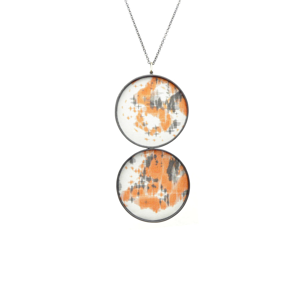 double large drawing pendant: map