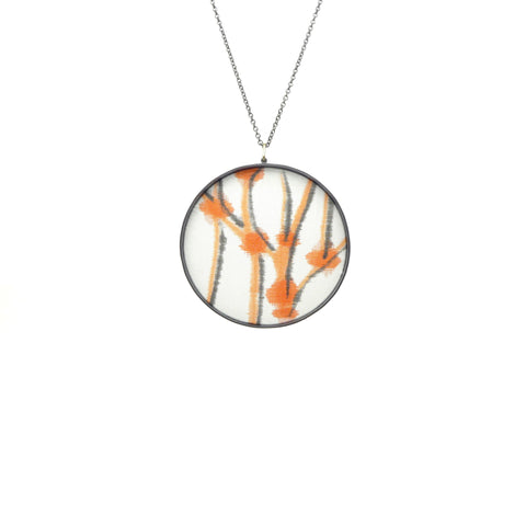 extra-large drawing pendant: lines