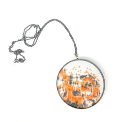 extra-large drawing pendant: map