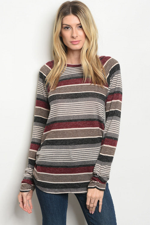Bethany Striped Sweater
