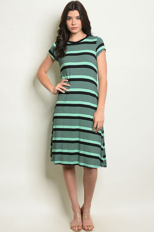Selena Striped Dress