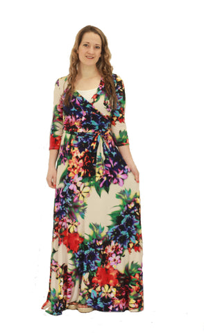 Courtney Floral Maxi Dress