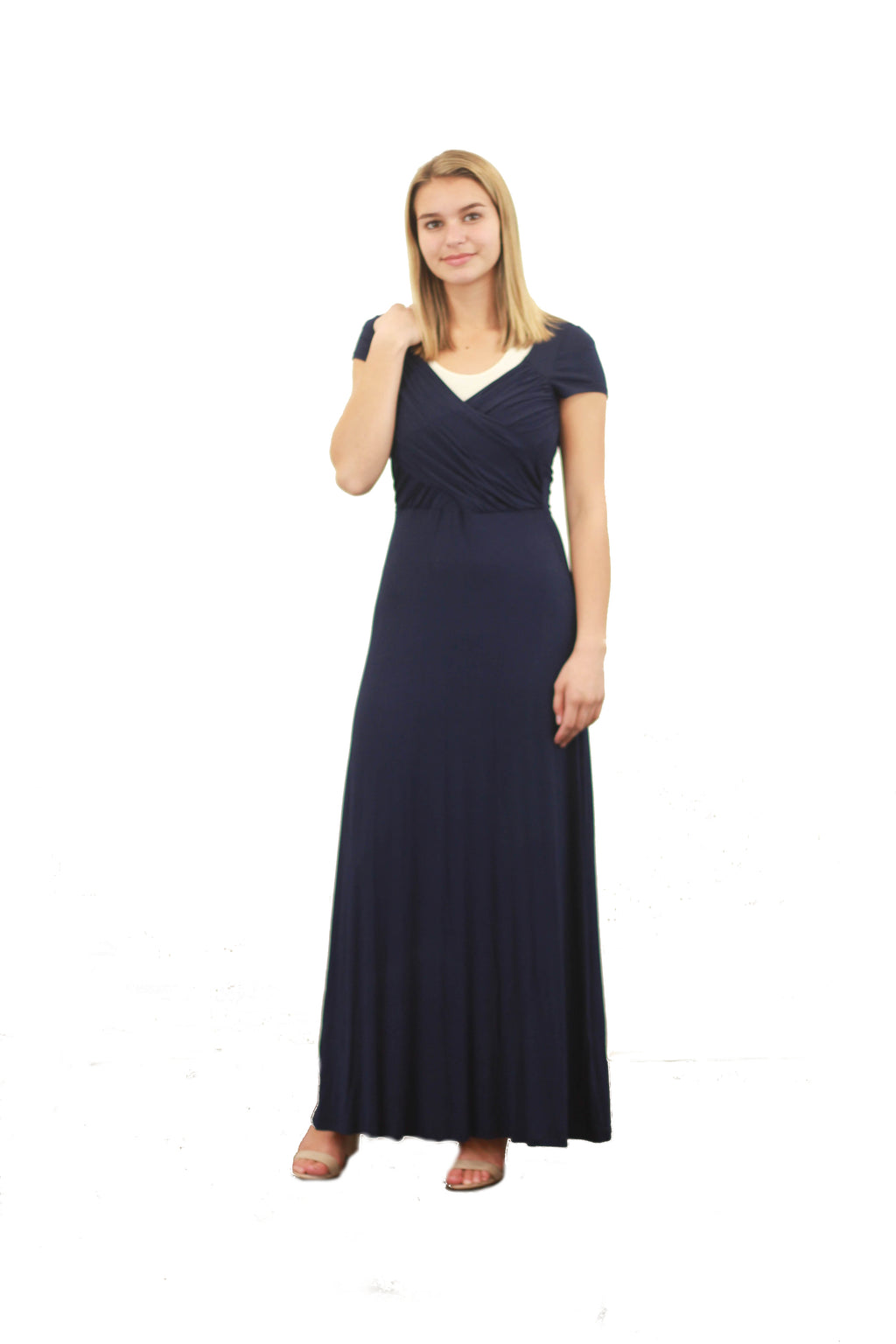 Crossover Front Maxi Dress - Final Sale