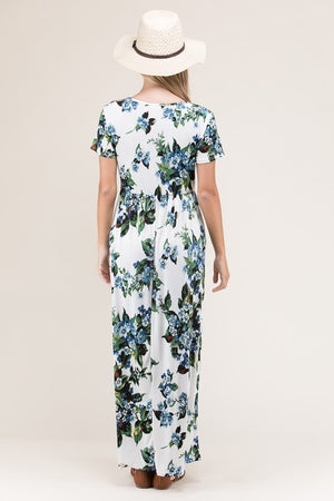 Daphne Floral Maxi Dress