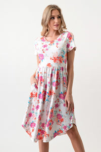 Estella Floral Dress