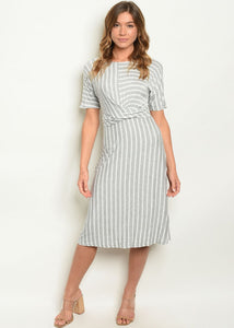 Gina Striped Dress