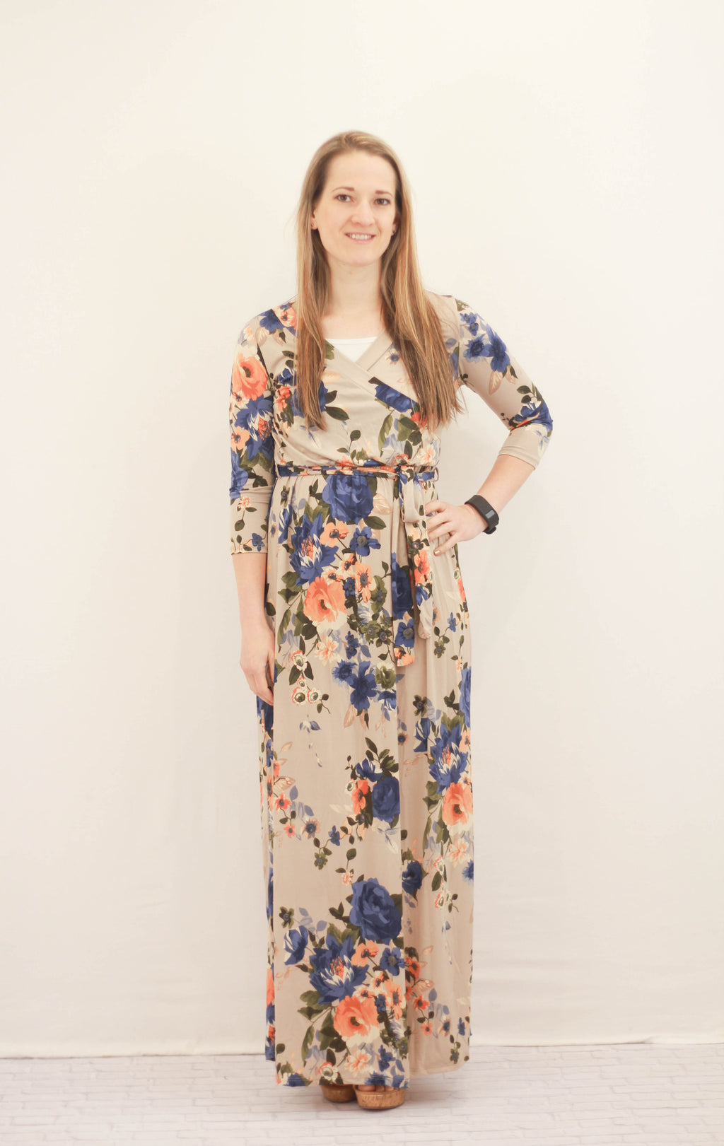 Jillian Floral Maxi Dress