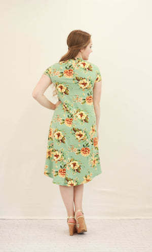 Shannon Floral Swing Dress