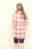 Plaid Fit & Flare Tunic