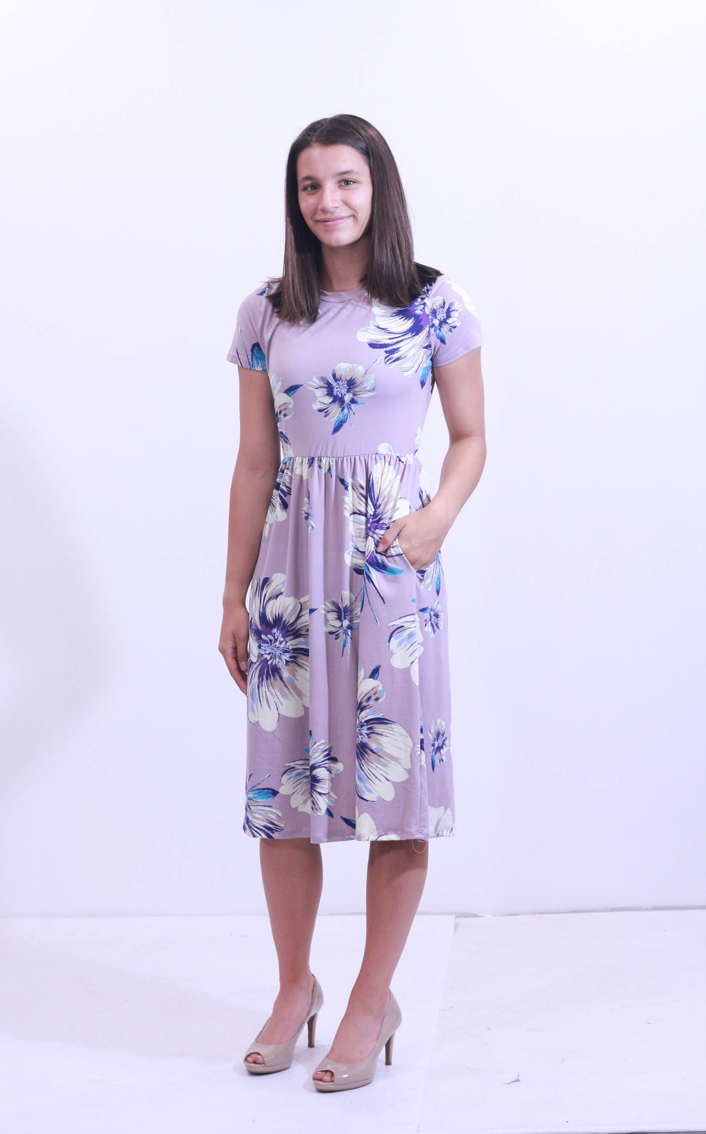 Audrey Floral Dress