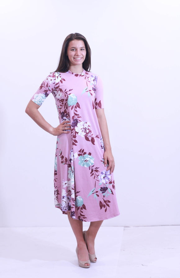 Jamie Floral Swing Dress