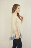 Layered Ruffle Tunic