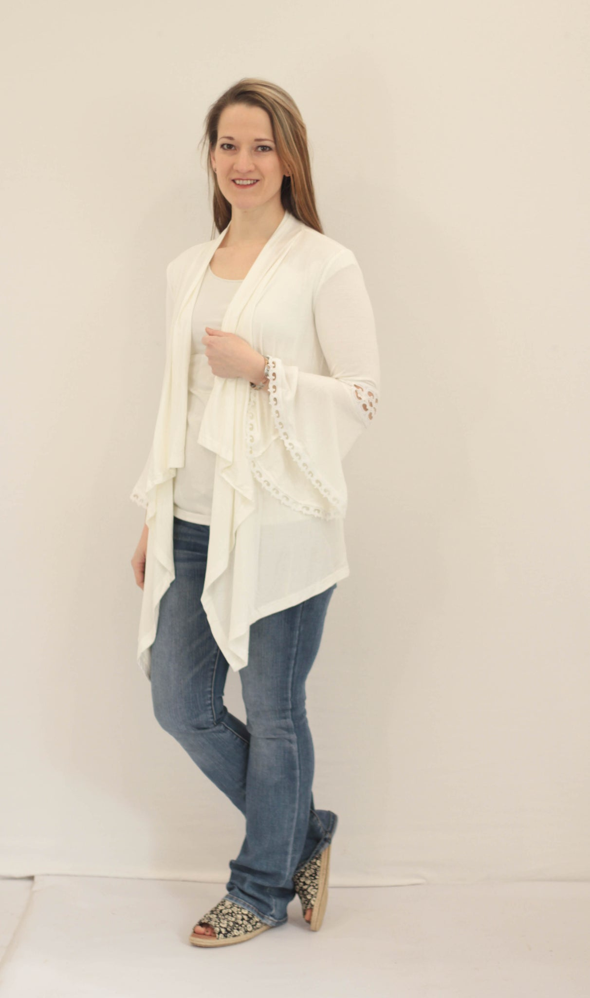 Lace Detail Cardigan