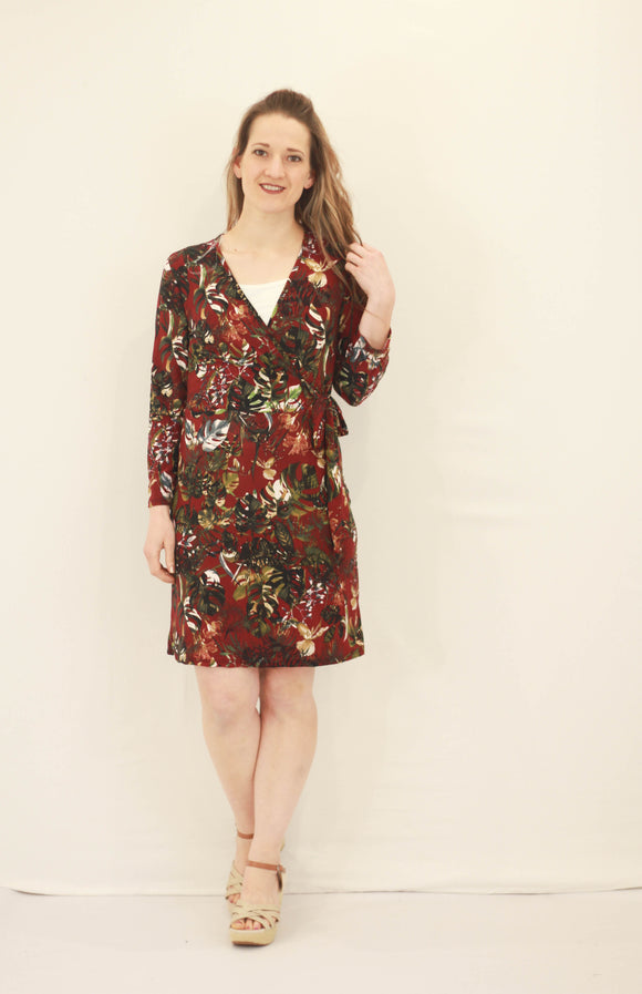 Tropical Floral Dress - 2 Colors!