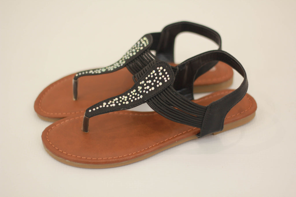 Embellished Summer Sandals