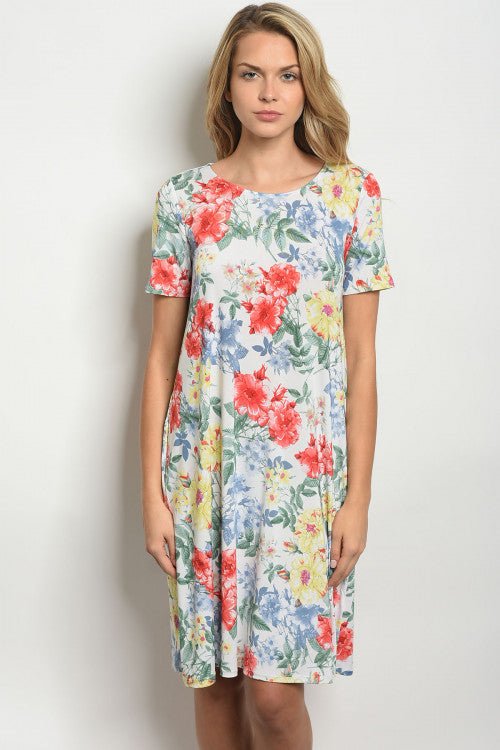 Janessa Floral Dress