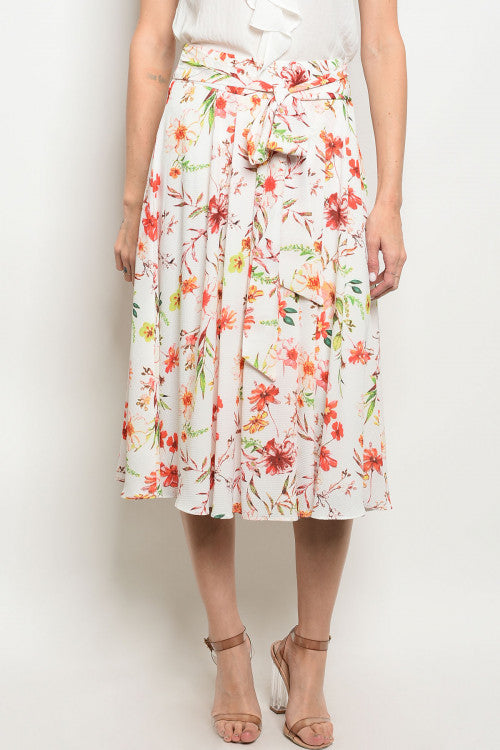 Kimberly Floral Skirt