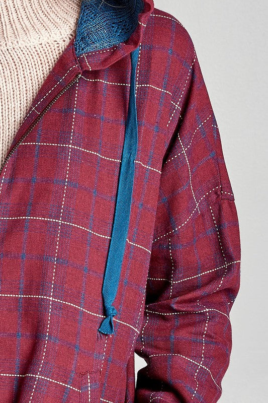 Avery Plaid Jacket
