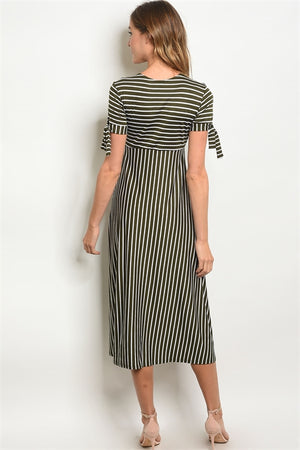 Pippa Striped Dress