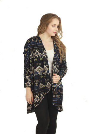 Tribal Cardigan Sweater