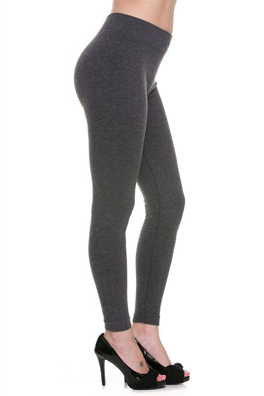 Slimming French Terry Leggings