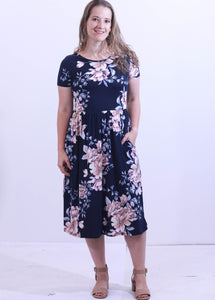 Julie Floral Dress