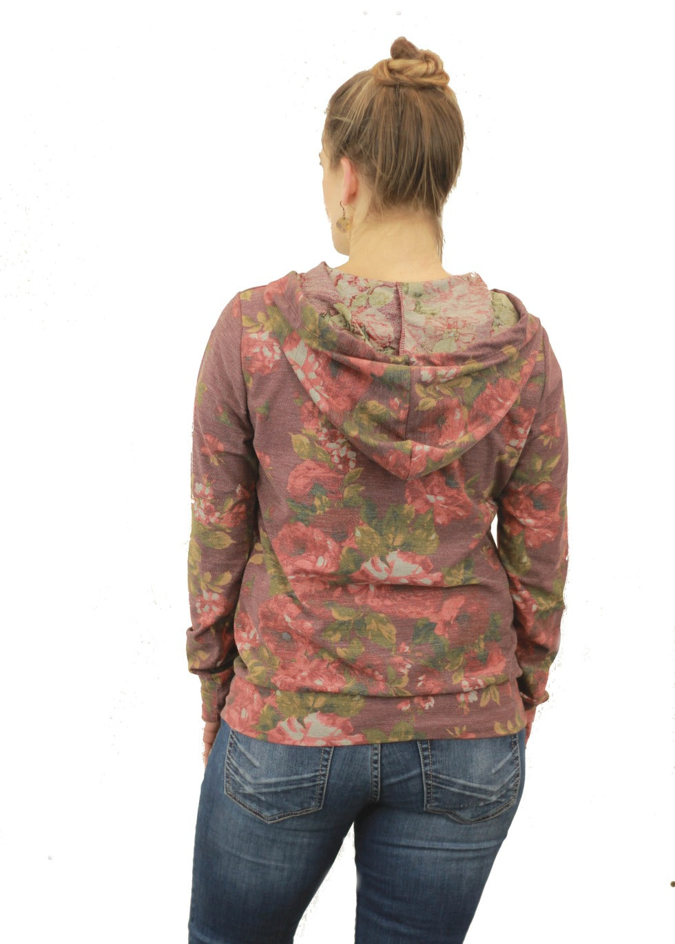 Lilly Floral Hoodie
