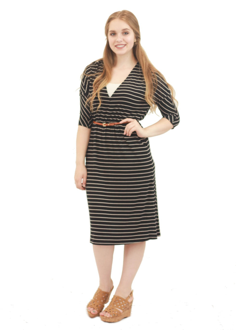 Emma Striped Dress