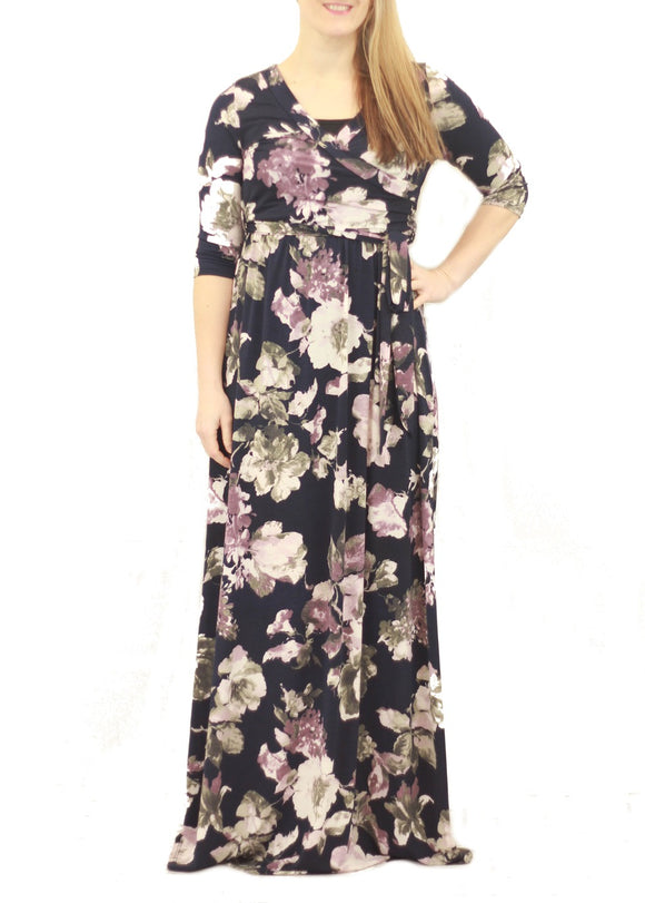 Lucy Floral Maxi Dress