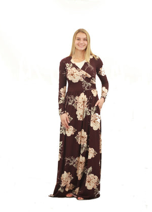 Chloe Floral Maxi Dress