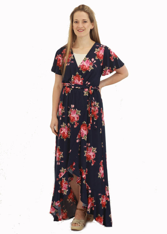 Alyssa Floral Maxi Dress
