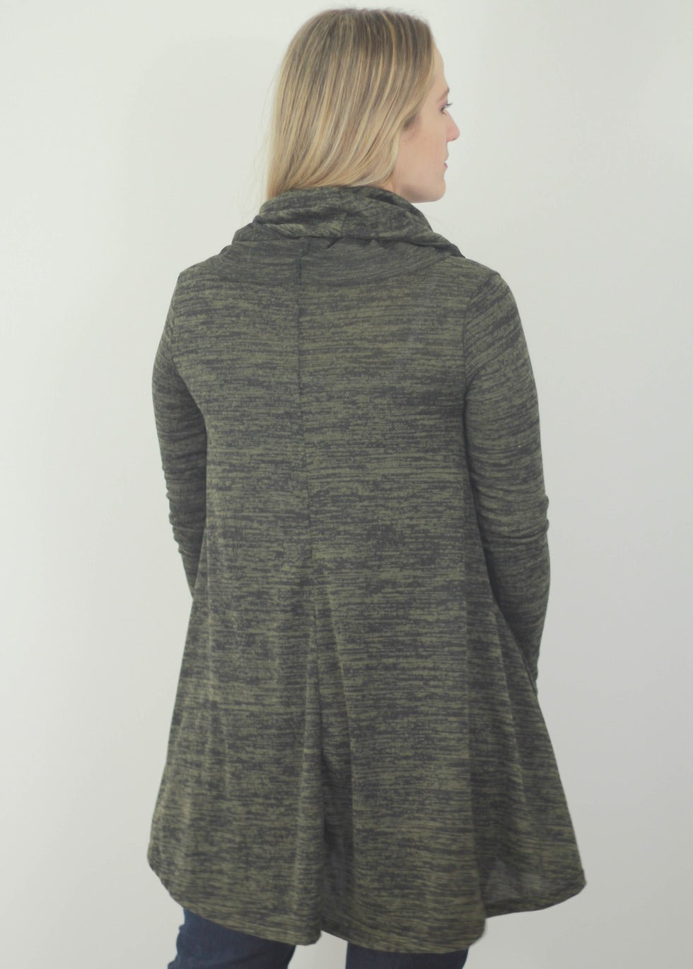 Cowl Neck Sweater Tunic