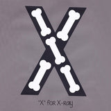 Alphabet Art Template - Upper X (Xray)