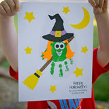 Witch Handprint Craftivity