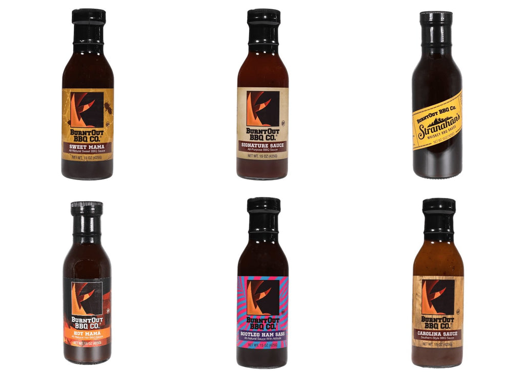Complete BBQ Sauce 6-Pack - BurntOut BBQ Co.
