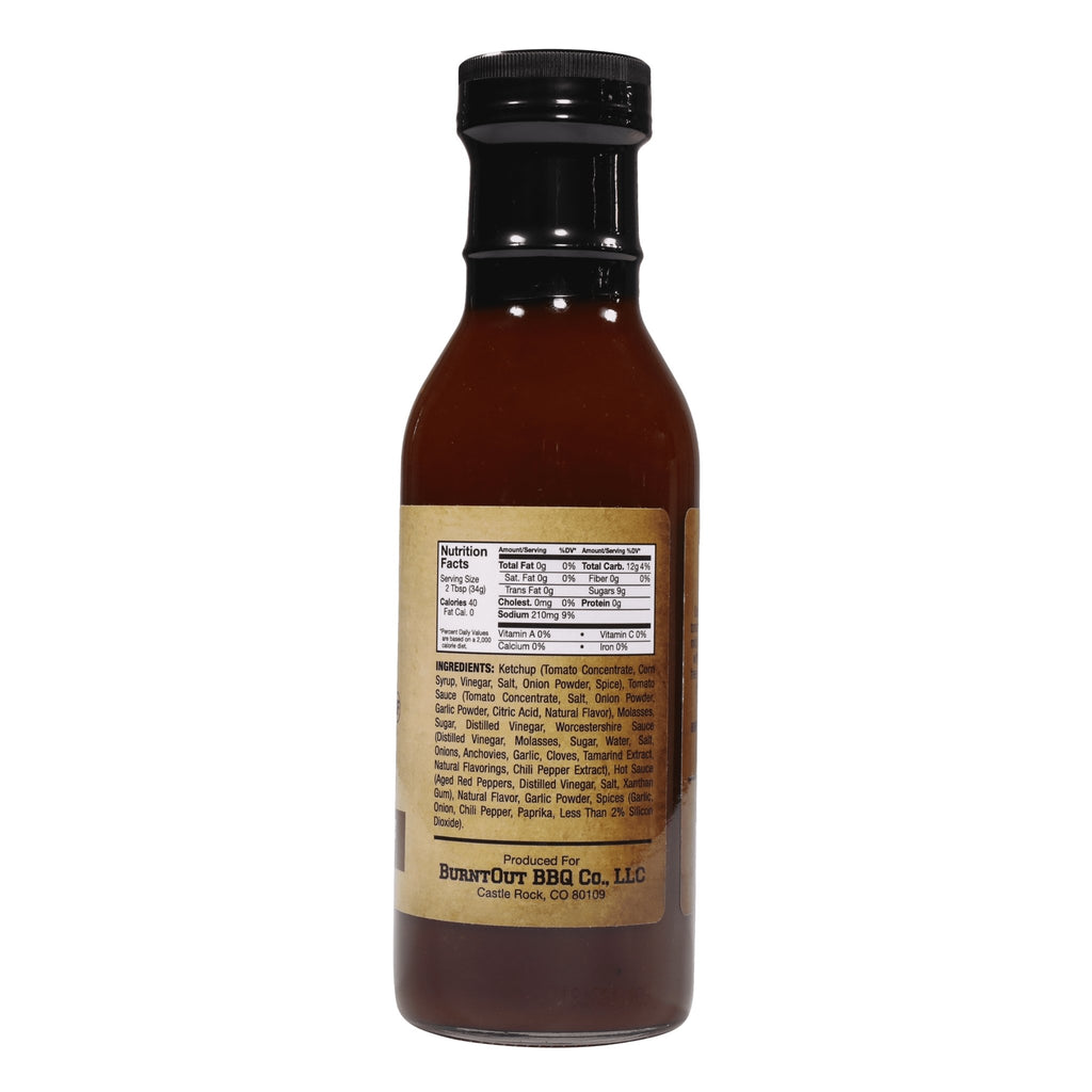 Signature BBQ Sauce - BurntOut BBQ Co.