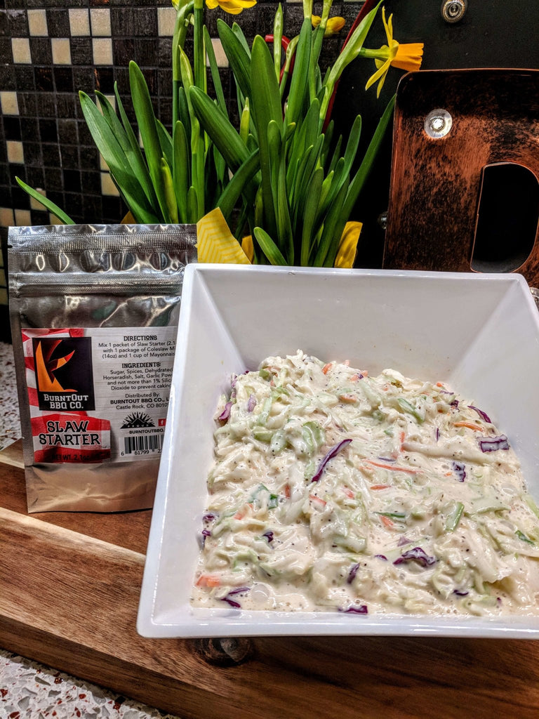 Slaw Starter Coleslaw Seasoning - BurntOut BBQ Co.