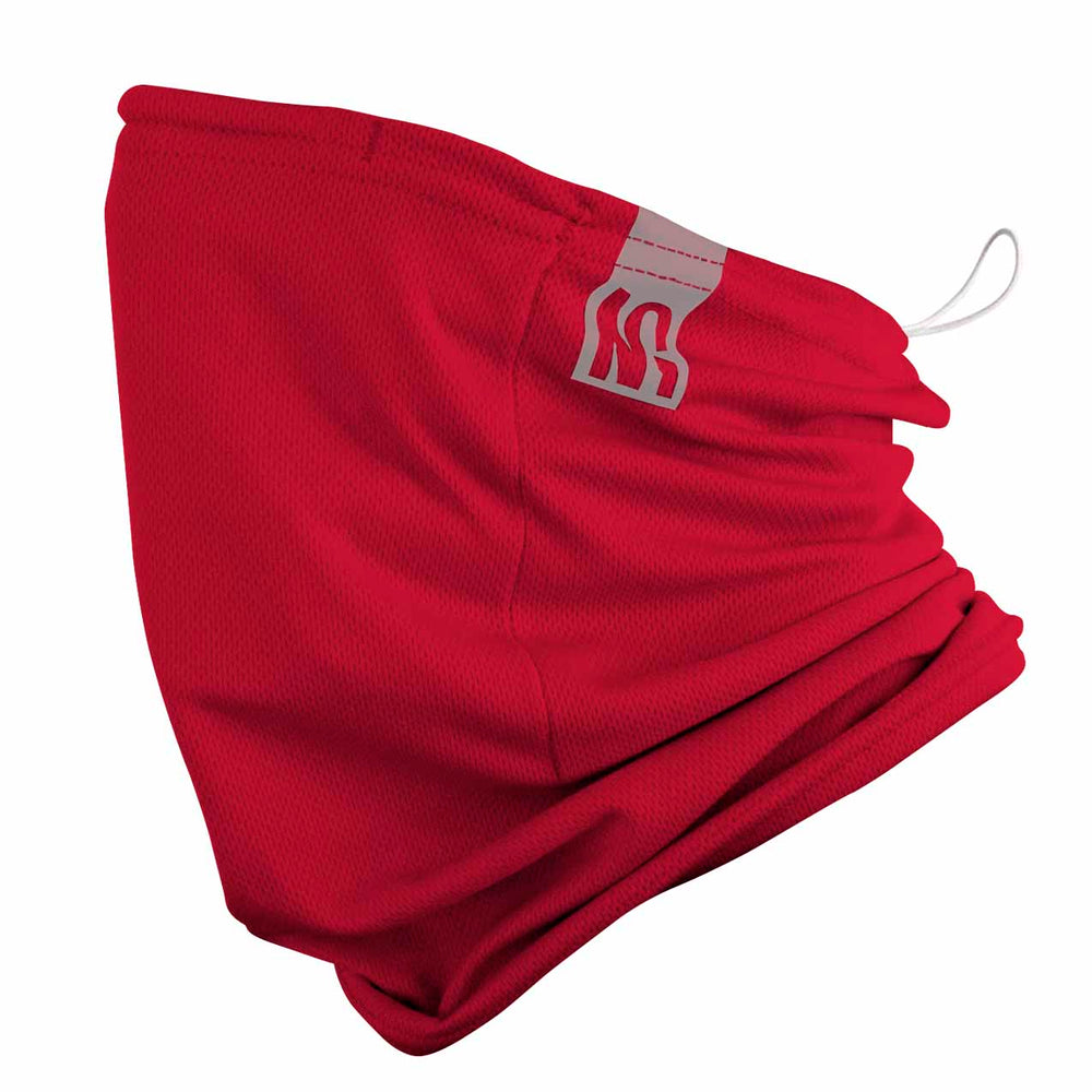reusable gaiter masks - red - made in USA