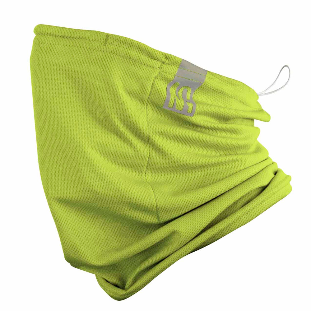 reusable gaiter masks - Bright YELLOW - made in USA