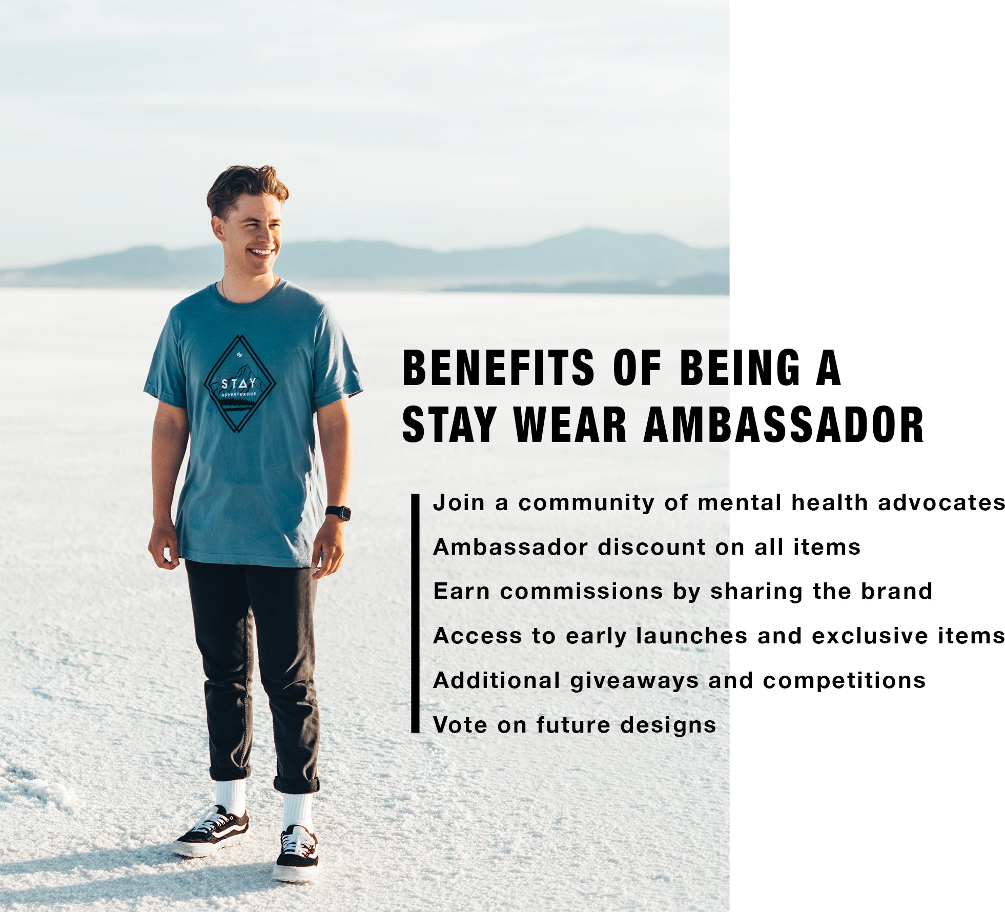 Benefits of being a Stay Wear ambassador