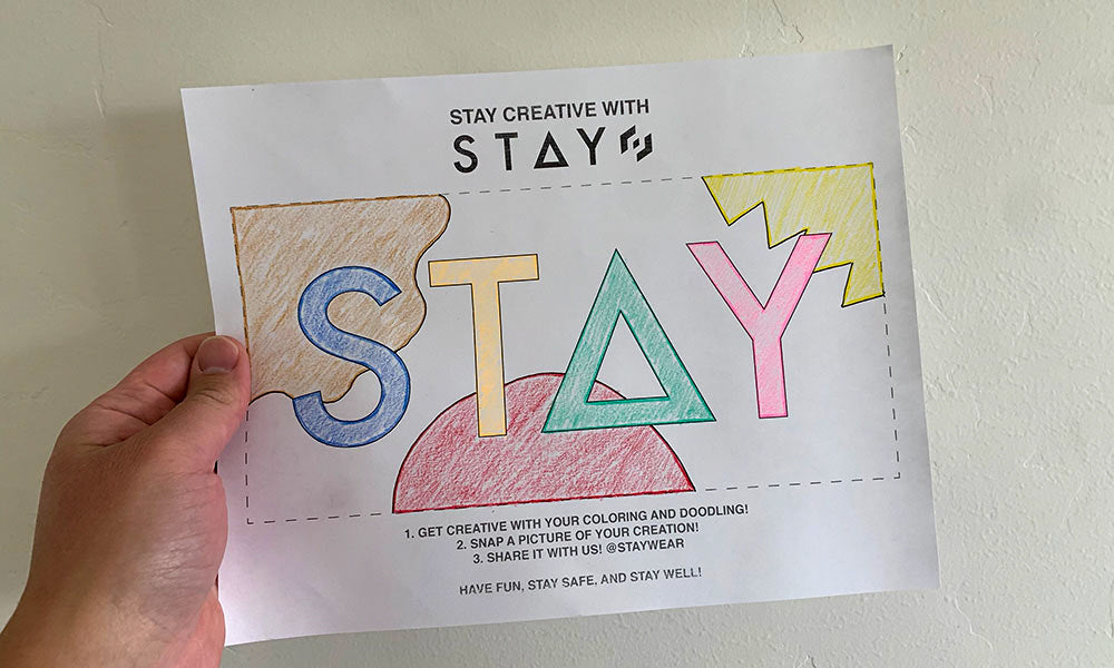Stay Coloring Sheet