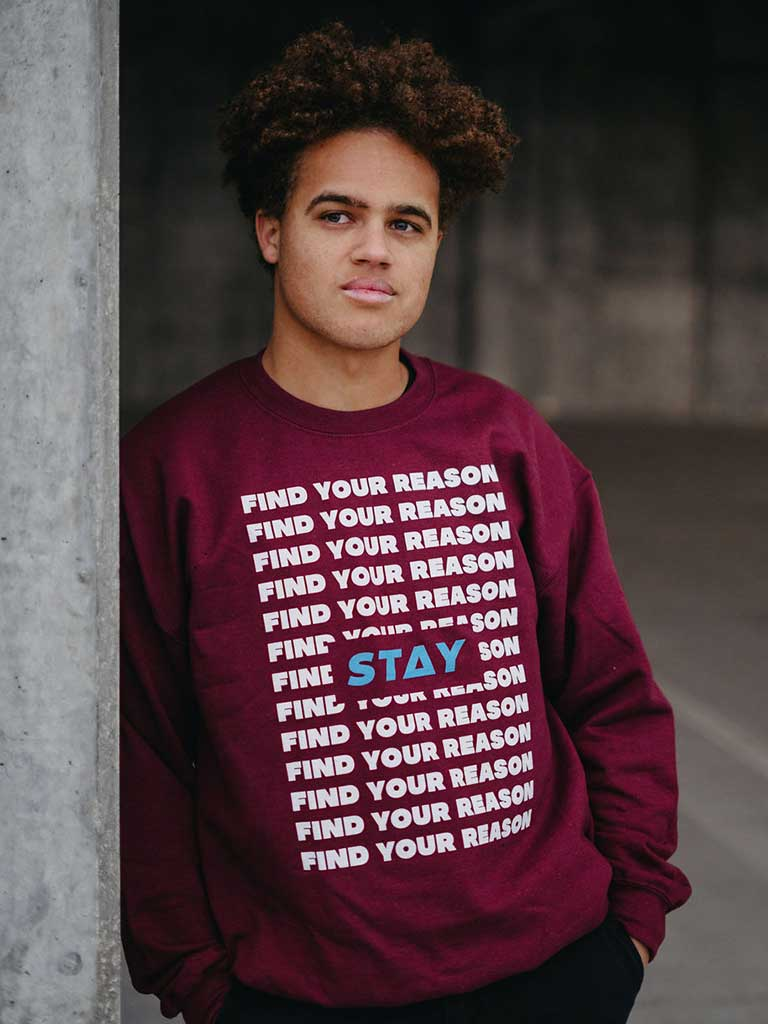 13 Reasons Sweatshirt - Maroon