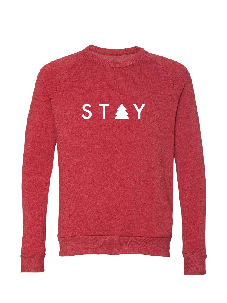 Pine Sweatshirt - Red