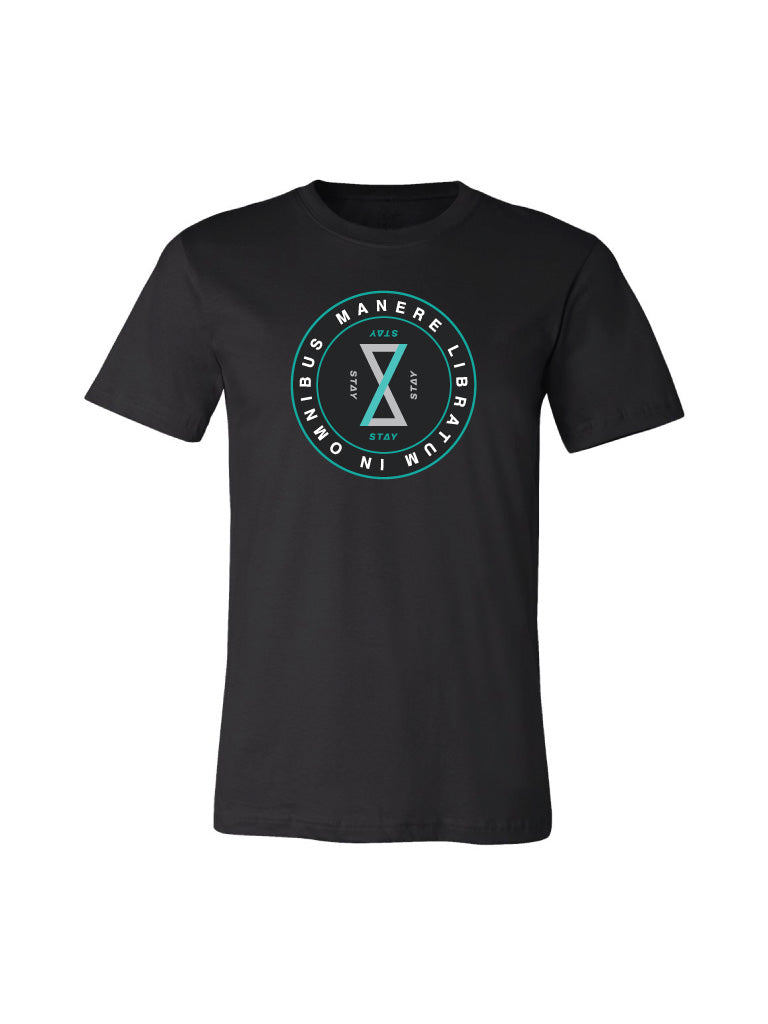 Balance Tee - Heather Black