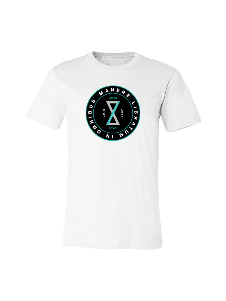 Balance Tee - Heather White