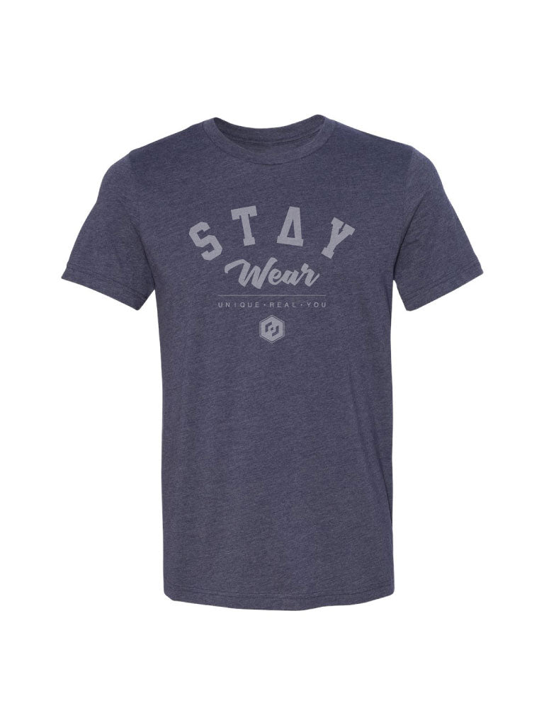 Classic Tee - Heather Navy