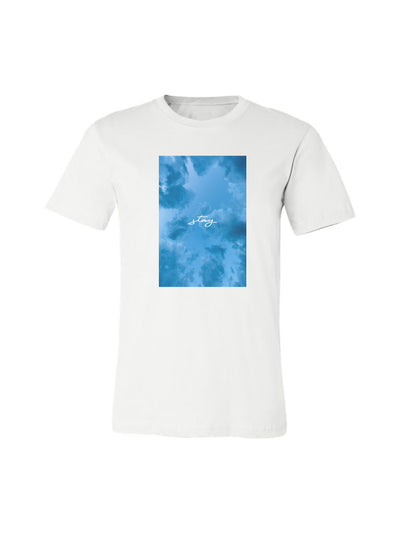Cloudy Skies Tee - White
