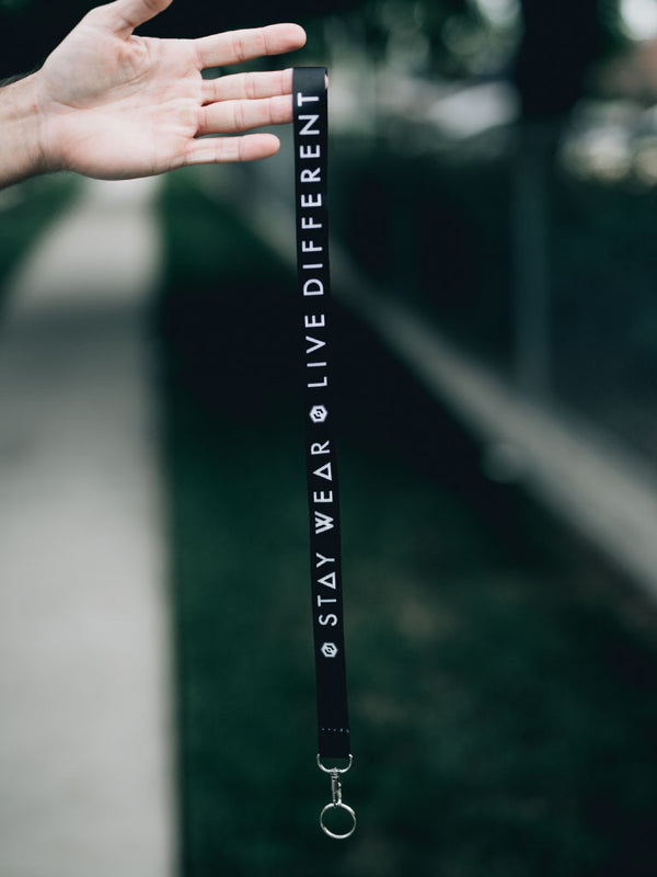 LIVE DIFFERENT - LANYARD