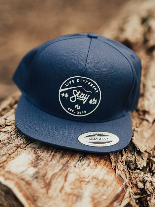NATURE LD SNAPBACK - NAVY