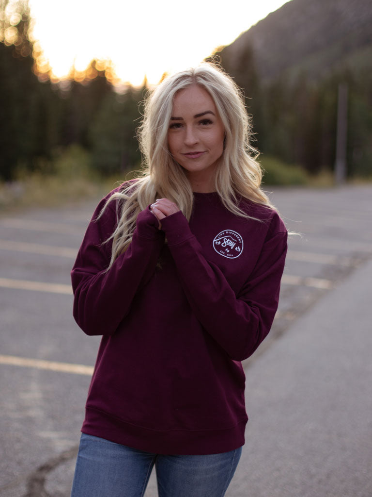 Nature Sweatshirt - Maroon